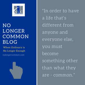 No longer common blog